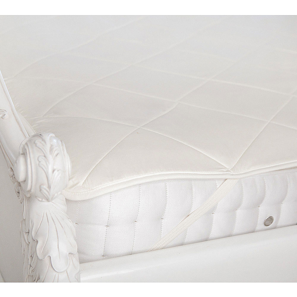 image-Vispring Quilted Mattress Protector Single