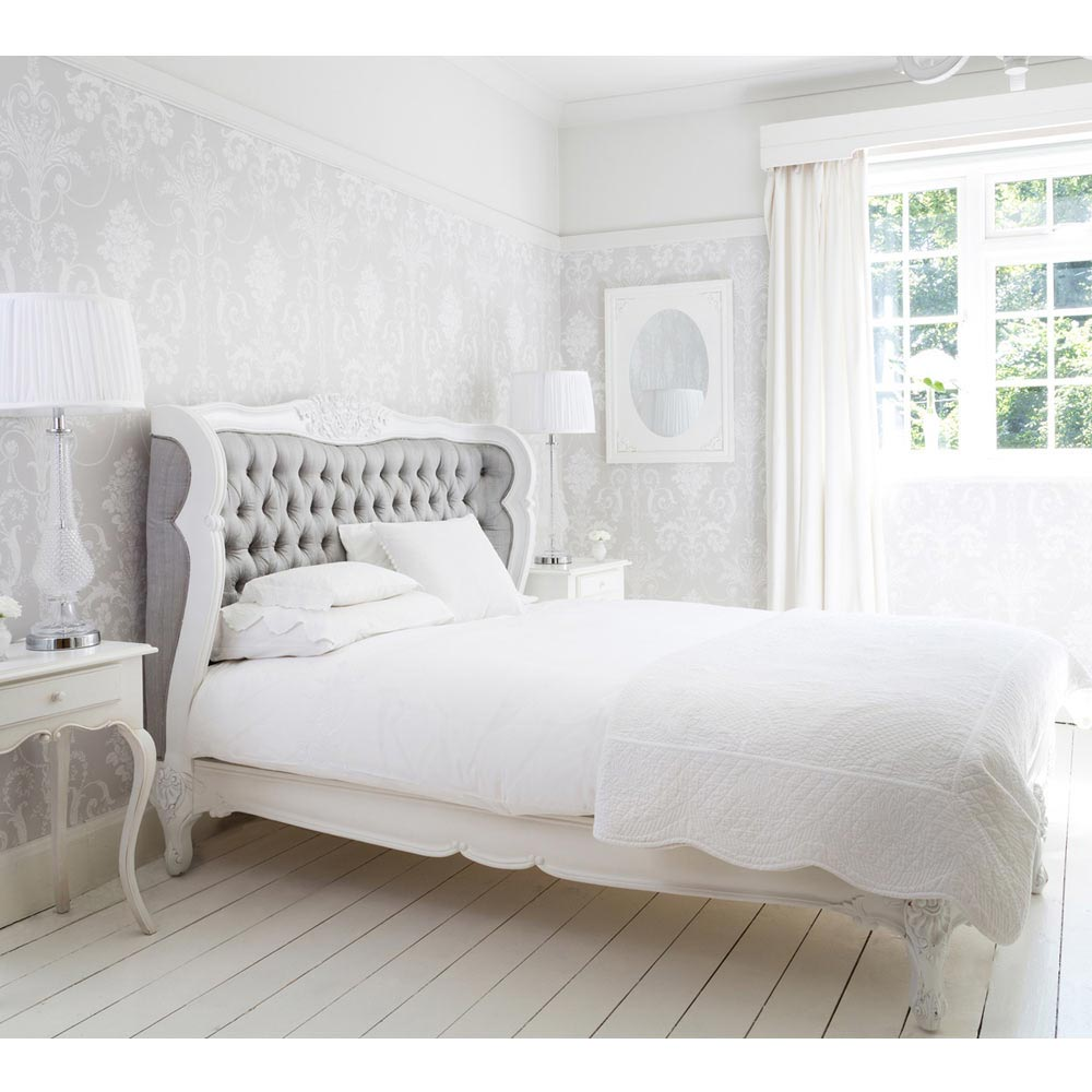 Bergerac Silk Upholstered Bed | Luxury Bed