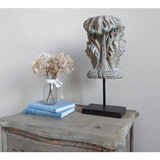 Naturally Distressed Wood Finial