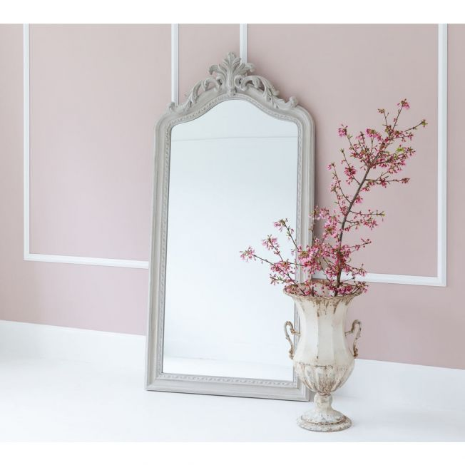 Heavy French Free Standing Mirror