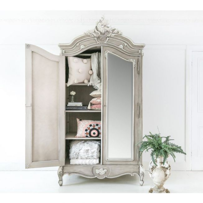 Large Grey Armoire