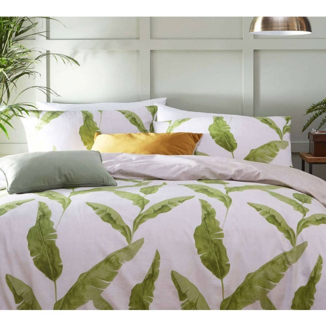 Banana Leaves Bed Linen Set