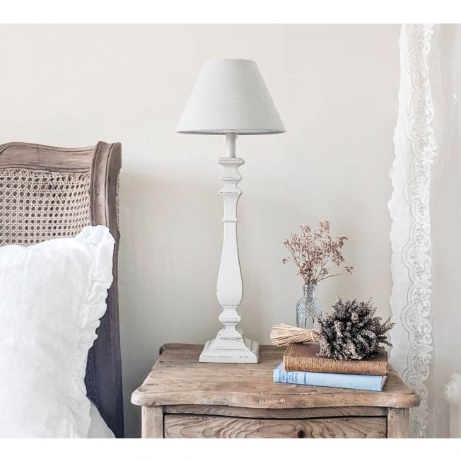 Distressed Table Lamps