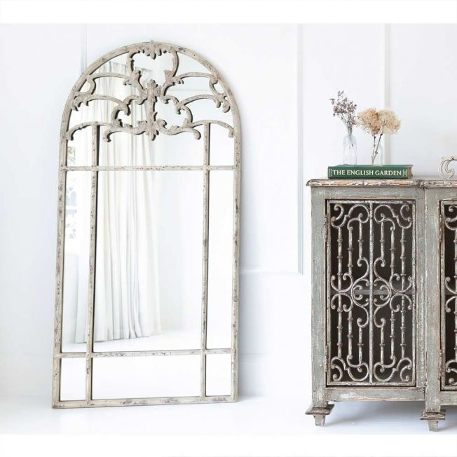 Luxury Distressed Mirror