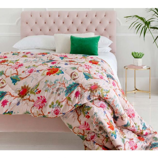 Quilted Pink Blanket