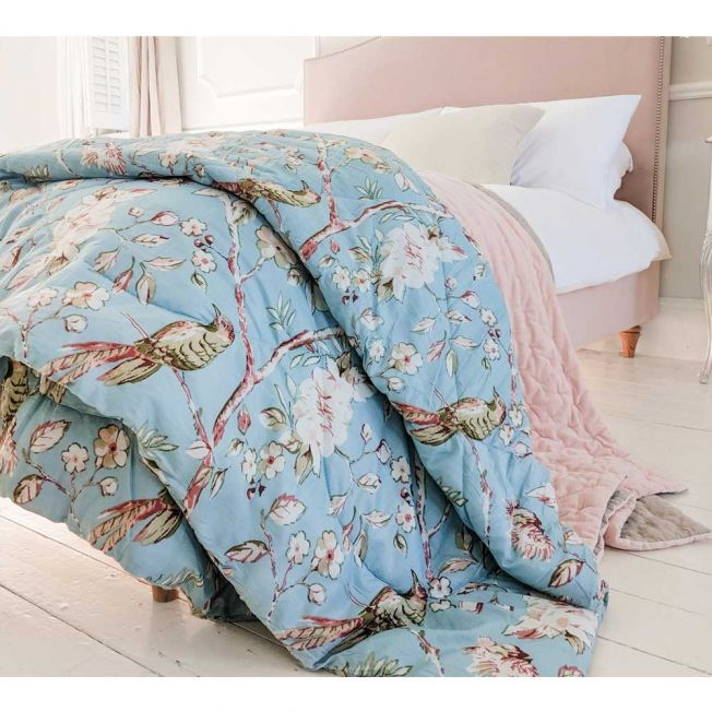Blue Birded Quilt