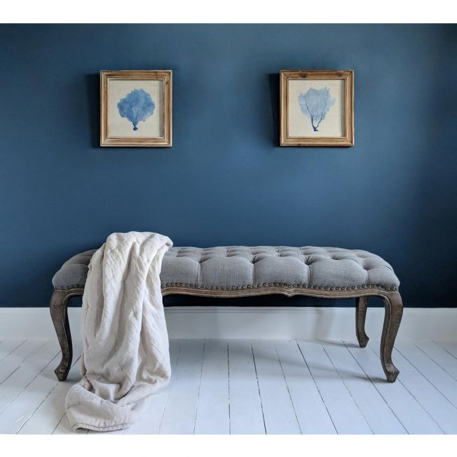 Grey French Bench