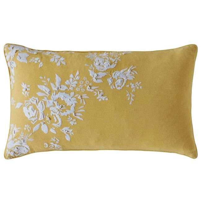 Cath Kidson Vintage Bunch Yellow Cushion