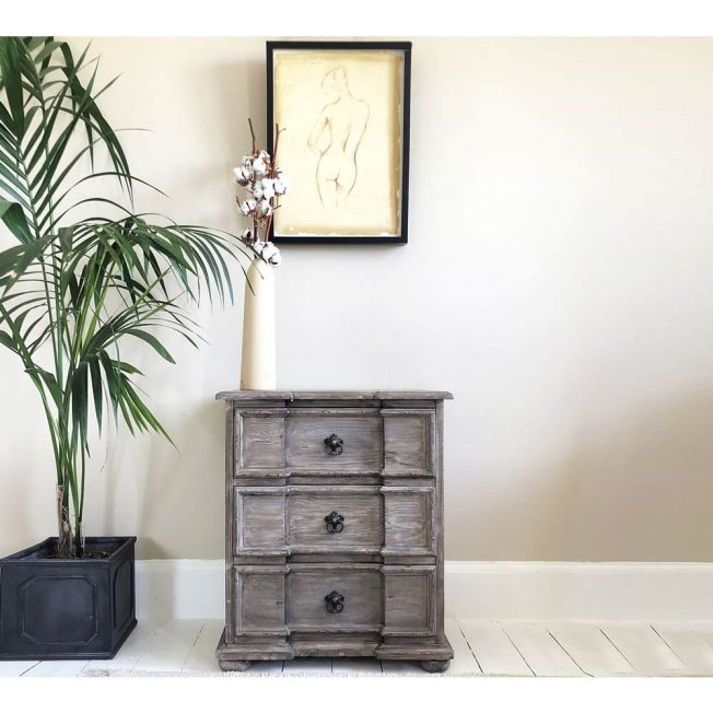 Chateauneuf French Style Bedside Table