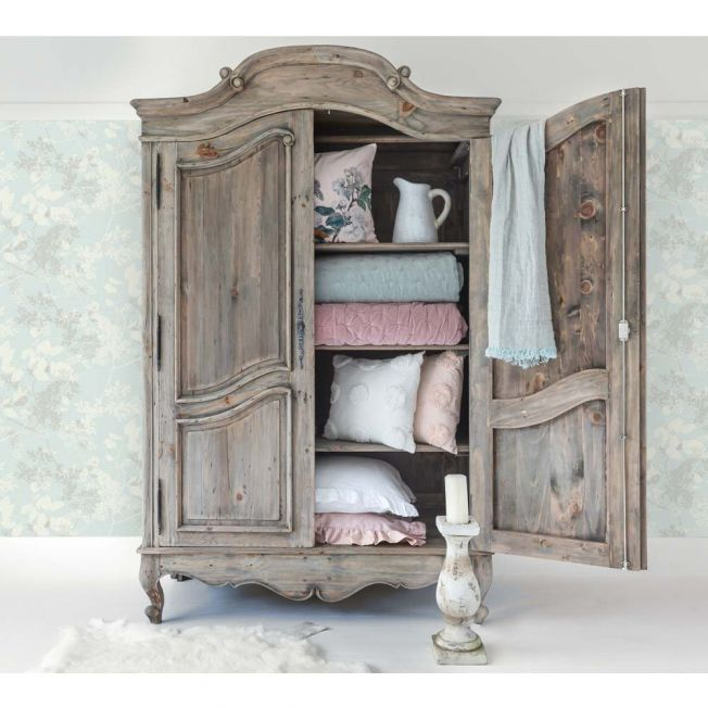 Luxury French Carved Armoire