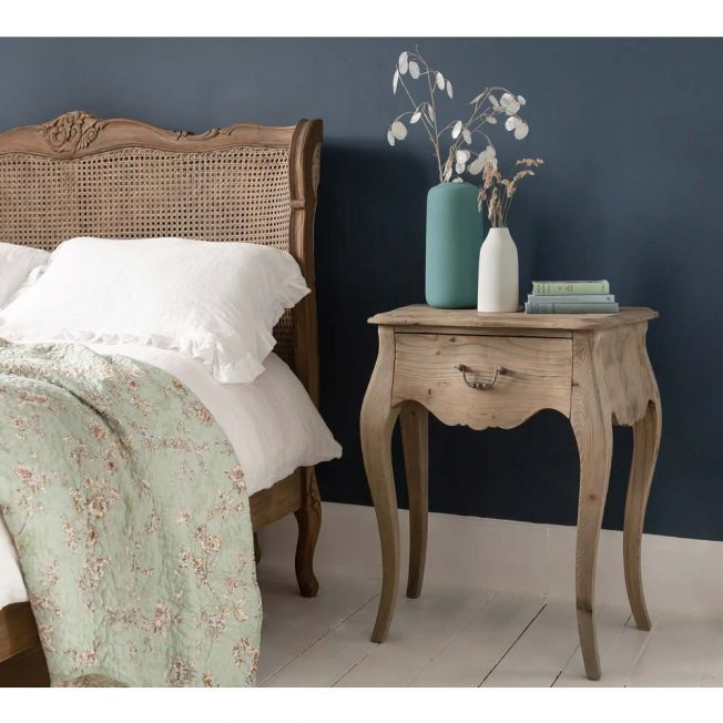 Classic Wooden Bedside Table