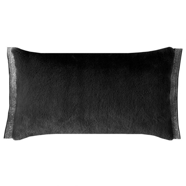 Emina Charcoal Boudoir Cushion By Rita Ora