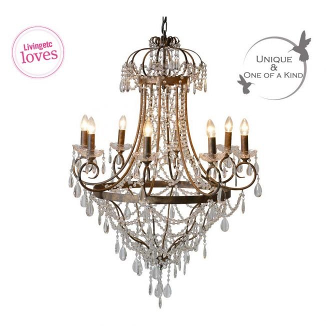 Essence Vintage Large Chandelier
