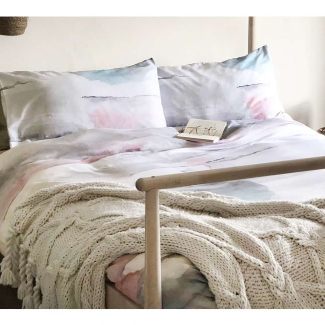 Sunset Ombre Cotton Bed Linen Set
