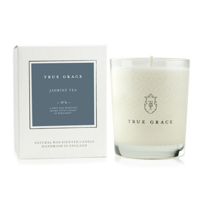 Classic Jasmine Tea Scented Candle, by True Grace