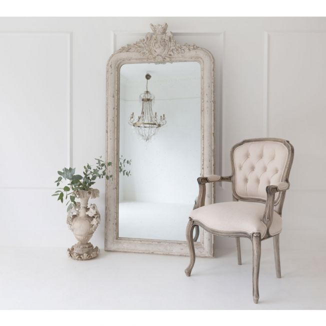 La Chapelle French Style Full Length Mirror