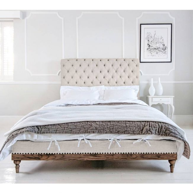 Beautiful Linen Bed