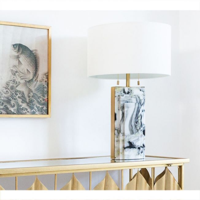 Gold Accent Table Lamp