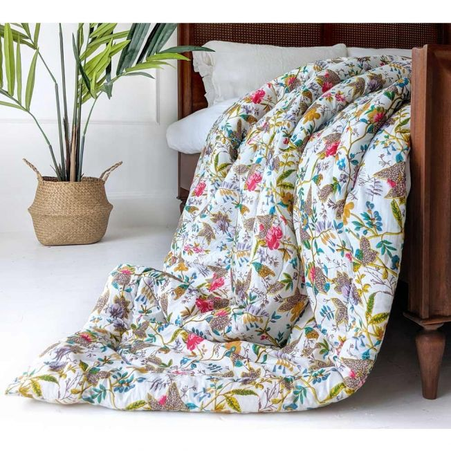 Luxury Meadow Blossom Quilt
