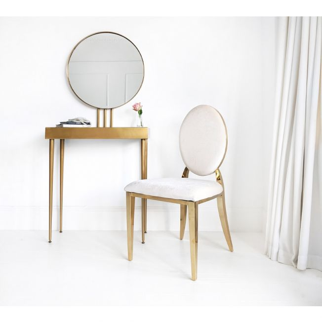 Beautiful Gold Dressing Table