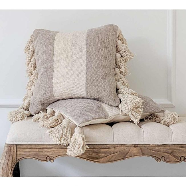 Tasselled Cushion