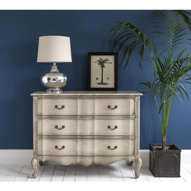 French Carved Chest of Drawers