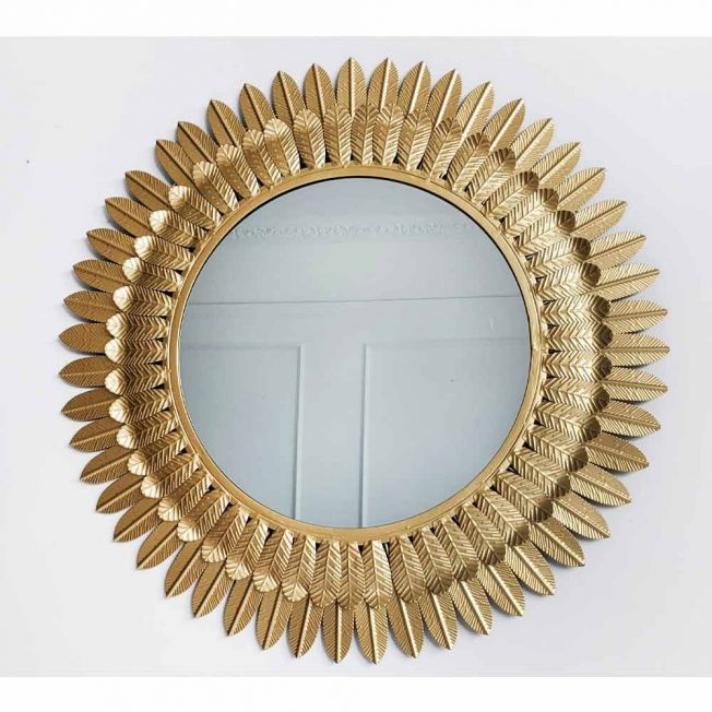 Gold Bedroom Wall Mirror