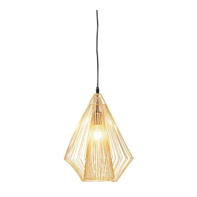 Gold Wired Pendant