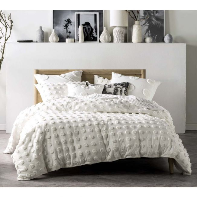 Beautifully Textured Bed Linen
