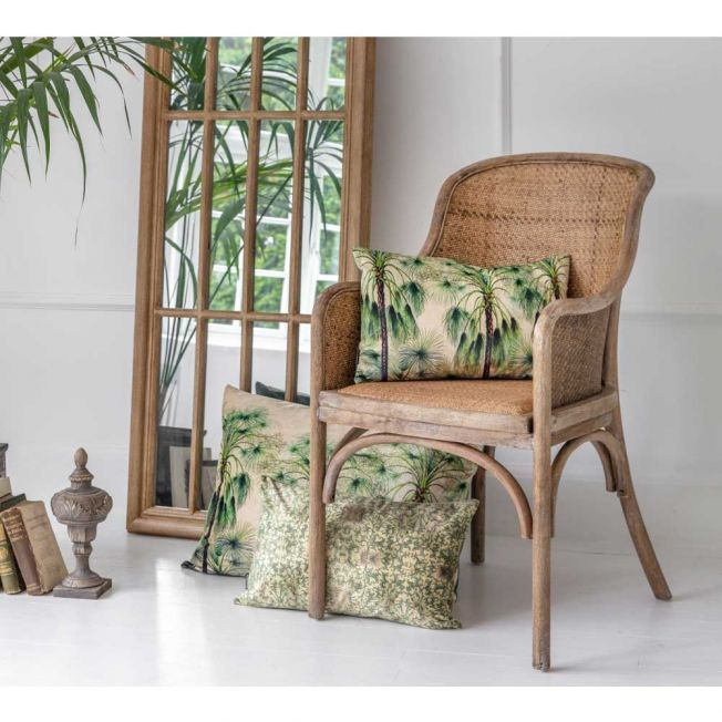 Natural Wooden Rattan Chair