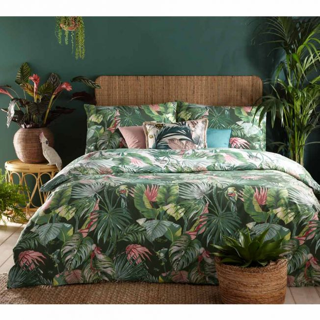 Rainforest Reversible Bed Linen Set
