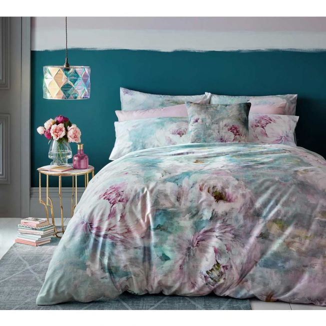 Roseum Moonstone Floral Bed Linen Set