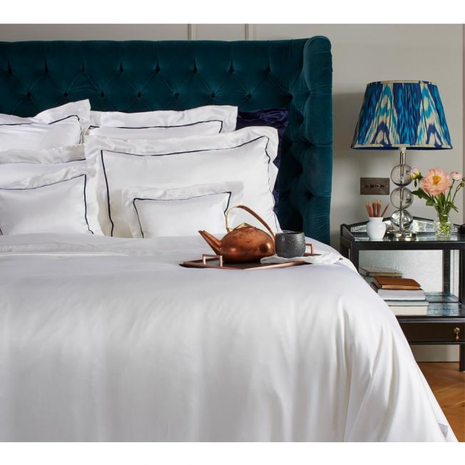 St Tropez Mulberry Silk Bed Linen by Gingerlily
