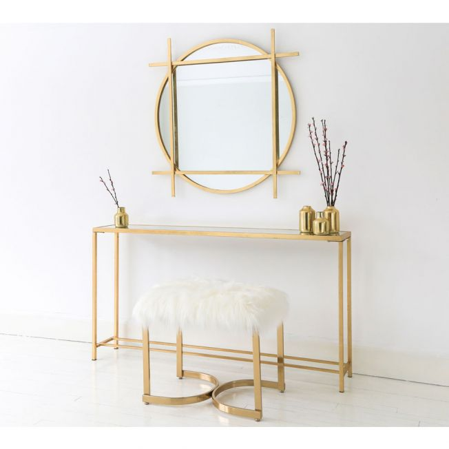 Small Gold Table