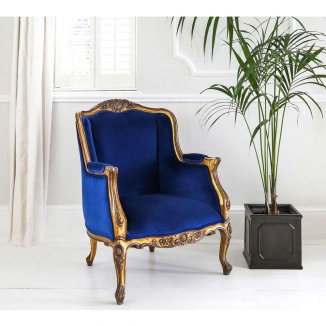 The Versailles Sacre Bleu Armchair
