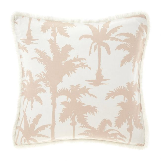Wonder Palm Large Fringed Cushion