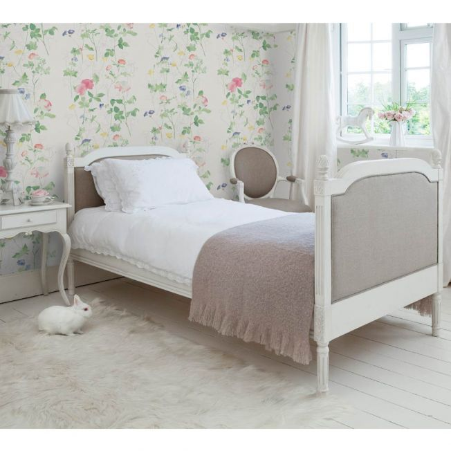 Provencal Linen Single Bed