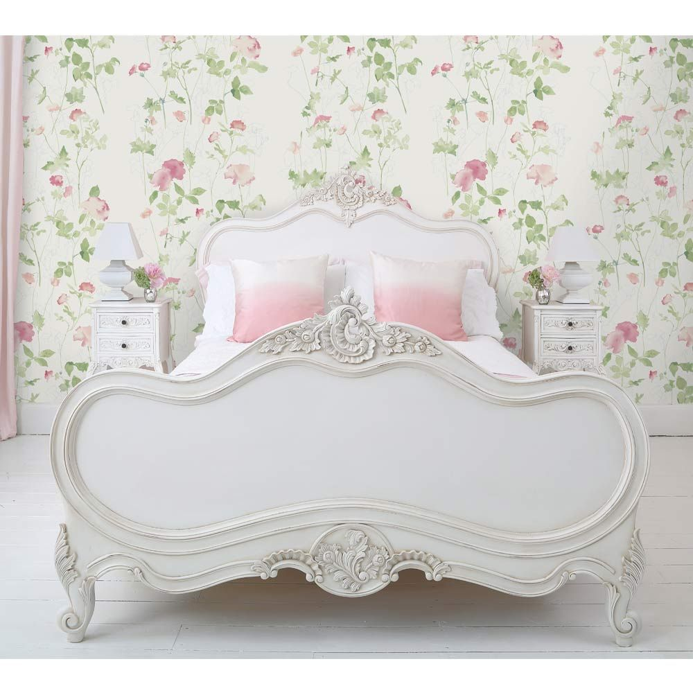 Provencal Louis Xv White French Bed French Bedroom Company
