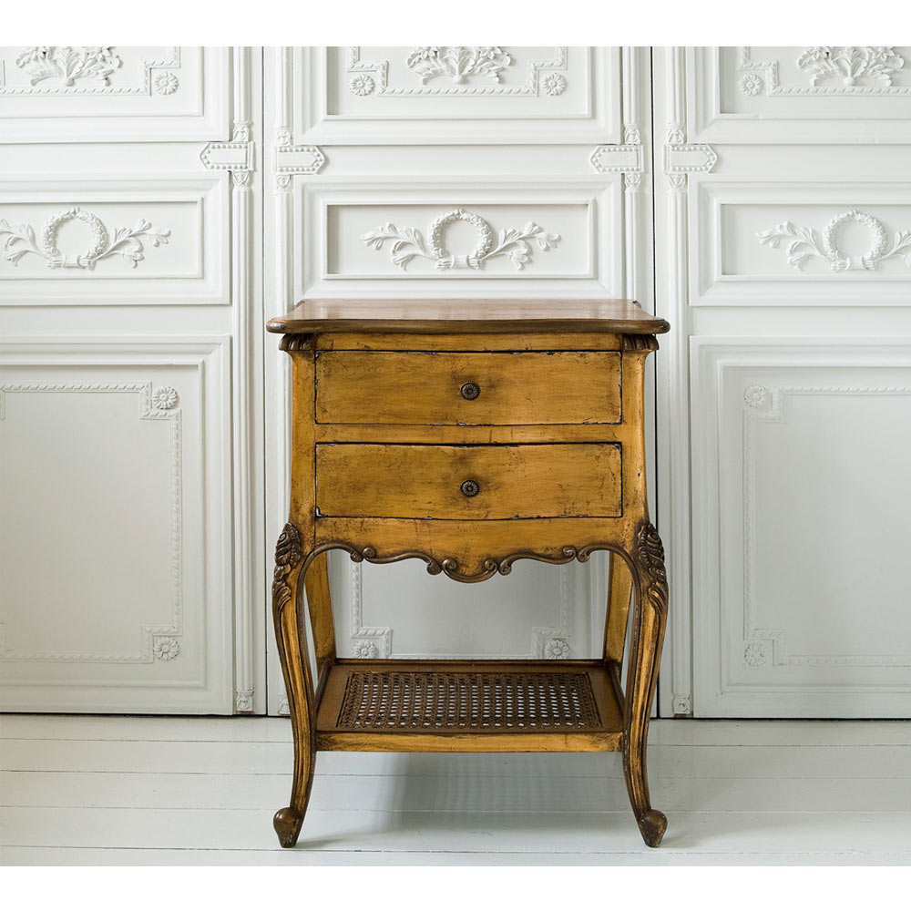 Versailles gold bedside table bedside table watchthetrailerfo
