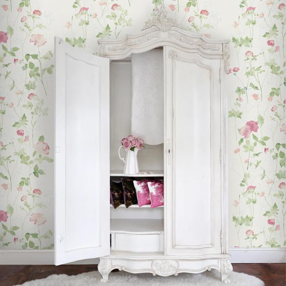 Romantic Storage Solutions for the Bedroom