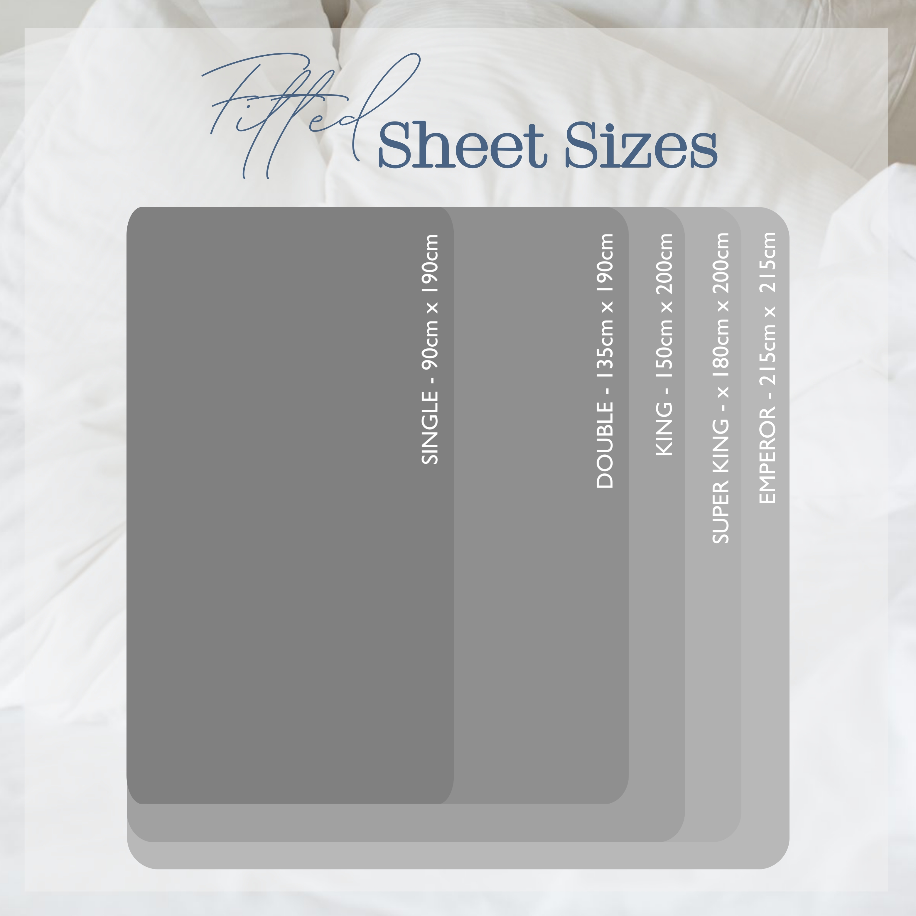 UK Fitted Sheet Size Guide