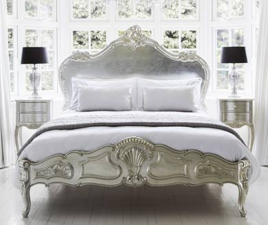 Sylvia Silver   Silver French Furniture. Collections   French Furniture   French Bedroom Company