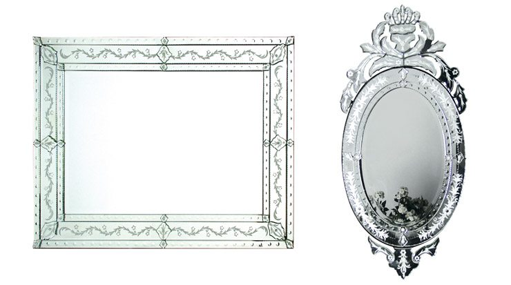 Beautiful Venetian Mirrors