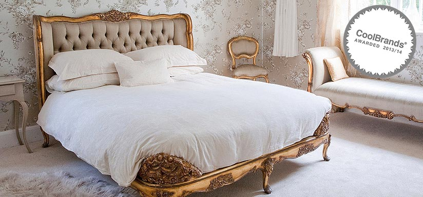 Versailles Upholstered Bed