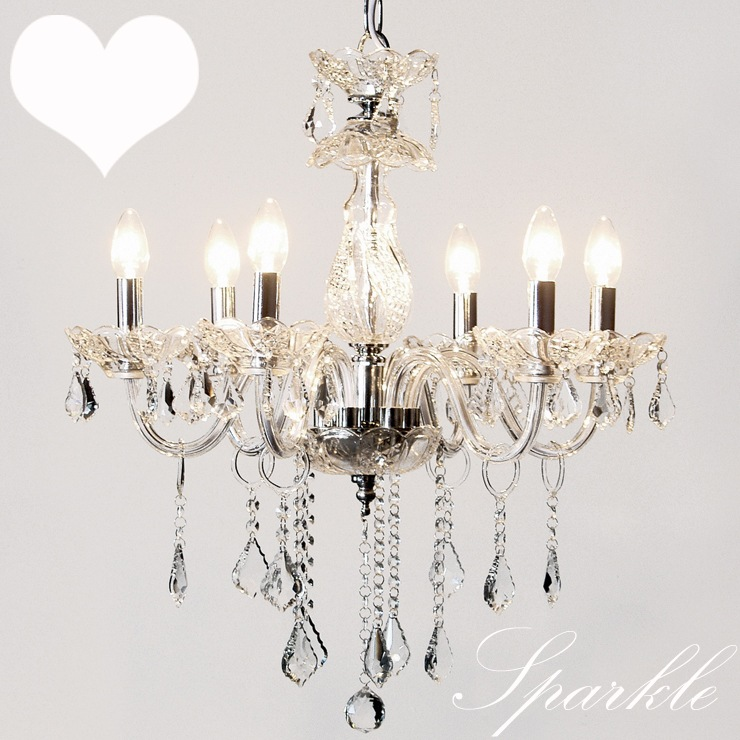 Sparkle chandeliers