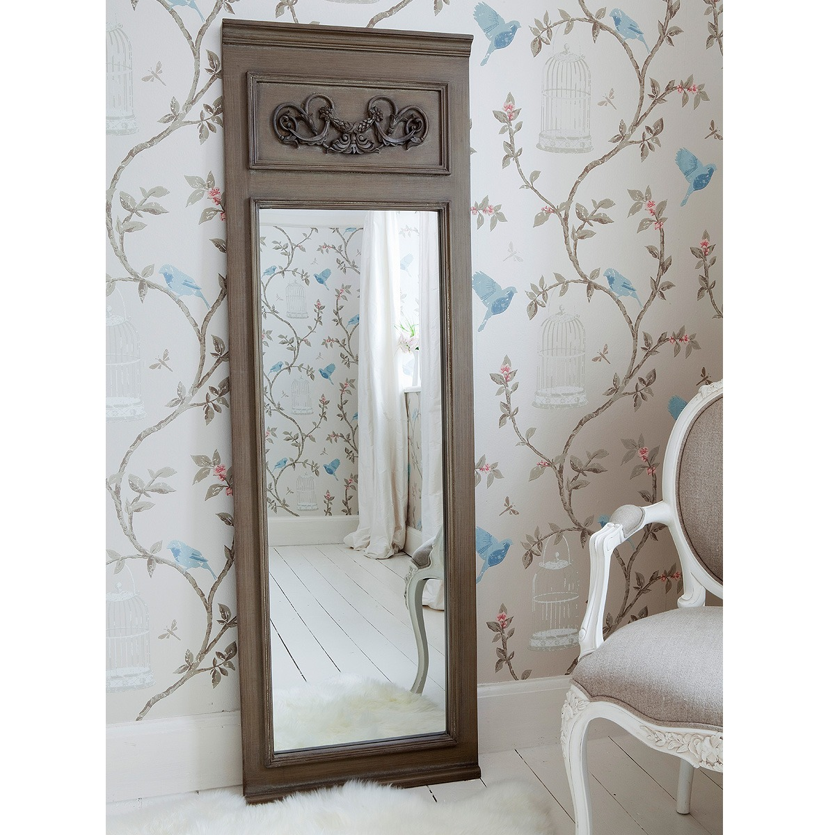 Full Length Mirror French Dressing Mirrors French