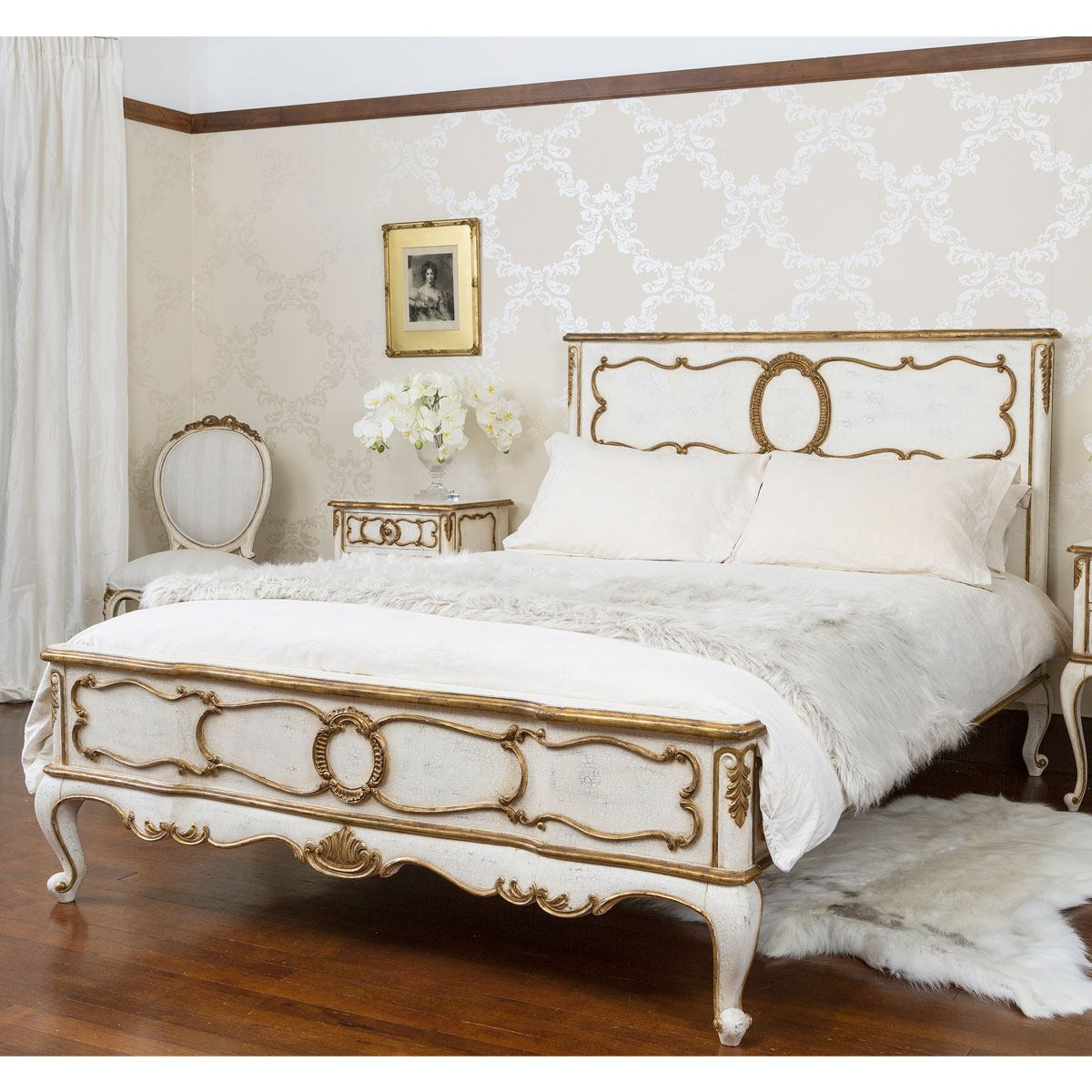 palais beautiful french bed super king size bed french bedroom company. Black Bedroom Furniture Sets. Home Design Ideas