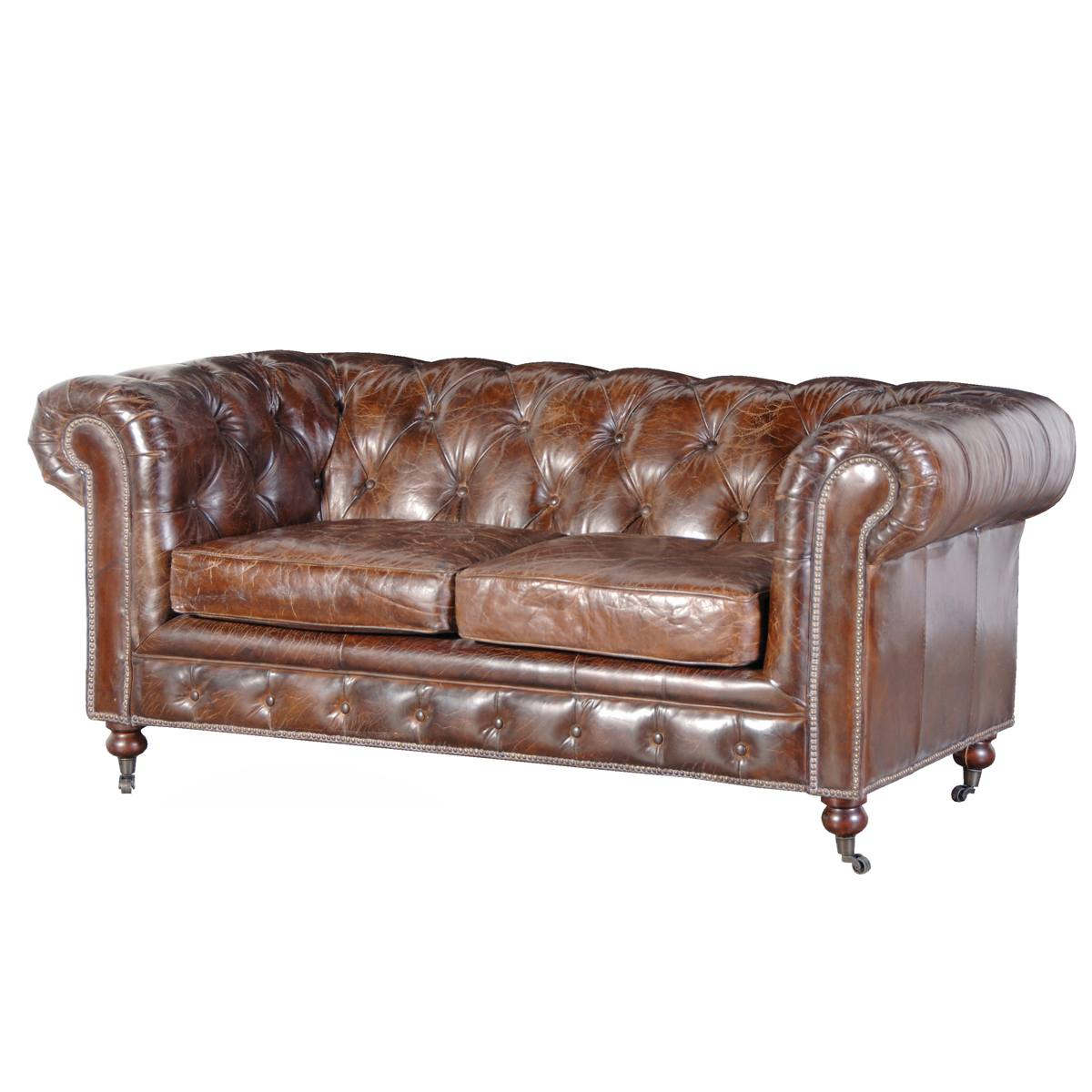 Vintage Leather Sofa 23