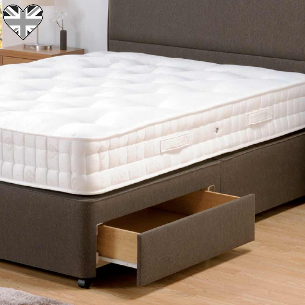 Firm Edge Woven Divan With Drawers French Bedroom Company