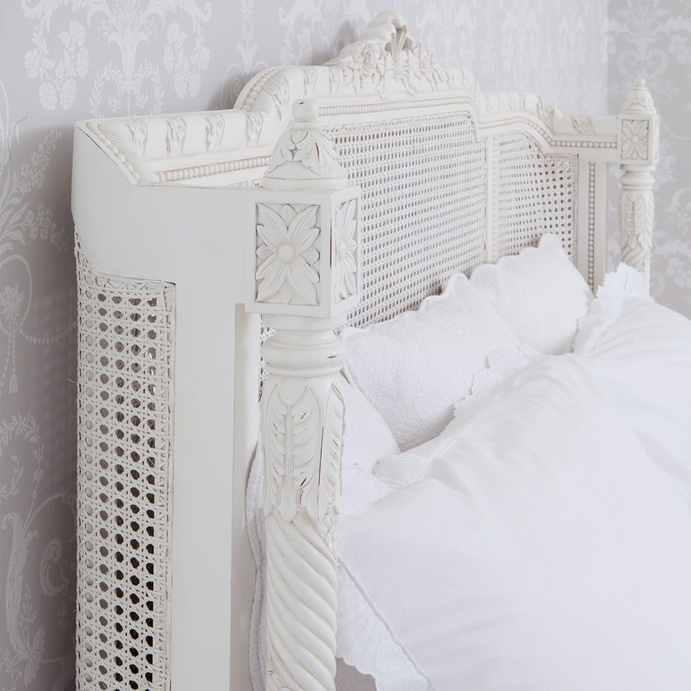 Provencal lit lit painted french bed french bedroom company - Lit provencal ...